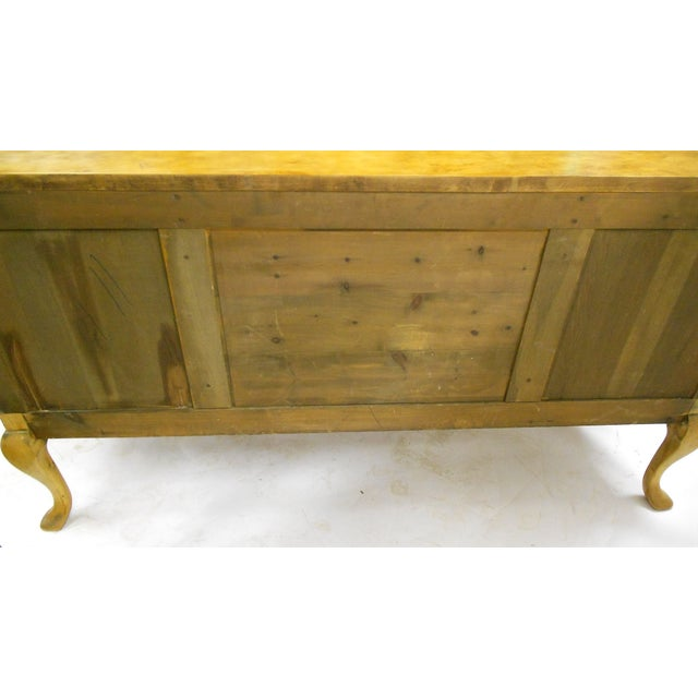 1880s Danish Birch Credenza/Buffet - Image 7 of 7