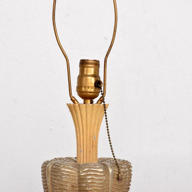 Neoclassical Sculptural Table Lamps, Circa 1940s For Sale In San Diego - Image 6 of 12