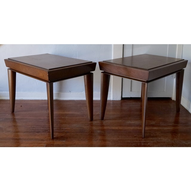Mid-Century Designer Paul Lazlo End Tables - Pair - Image 5 of 7