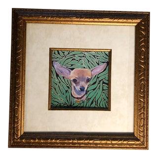 Chihuahua Dog Print by Judy Henn For Sale