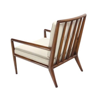 Newly Upholstered Gibbings Lounge Arm Chair For Sale