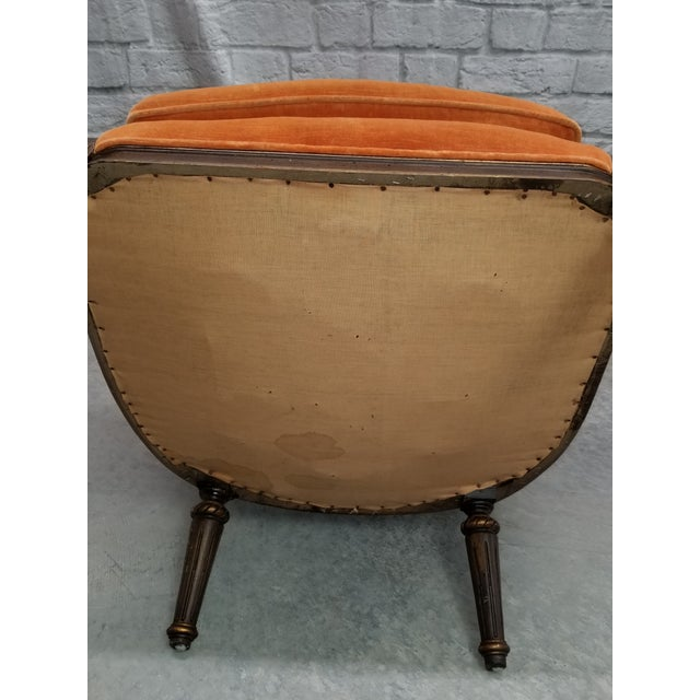 Metal 1920s Traditional Hibriten Eastlake Style Chair For Sale - Image 7 of 10