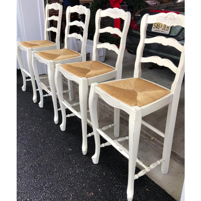 Strange Late 20Th Century French Country Counter Stools Set Of 4 Gamerscity Chair Design For Home Gamerscityorg