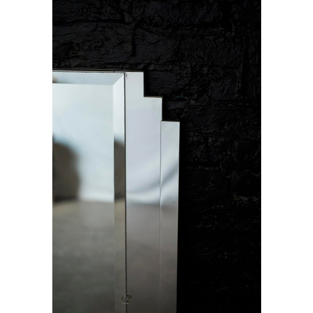 Art Deco Art Deco Style Mirrored Queen Size Headboard by Ob Solie for Ello For Sale - Image 3 of 10