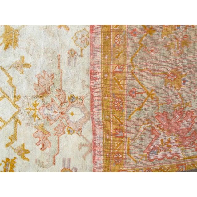 Textile Oversized Oushak Carpet For Sale - Image 7 of 10