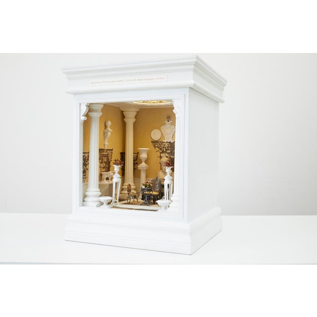 Fantastic miniature doll house by Tom Roberts who over his career has created approximately 40 of these small unique...