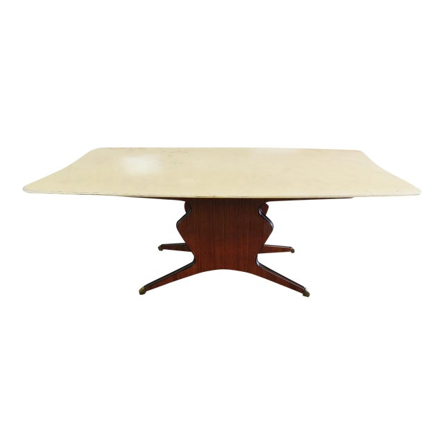 Borsani Marble Top Dining Room Table For Sale