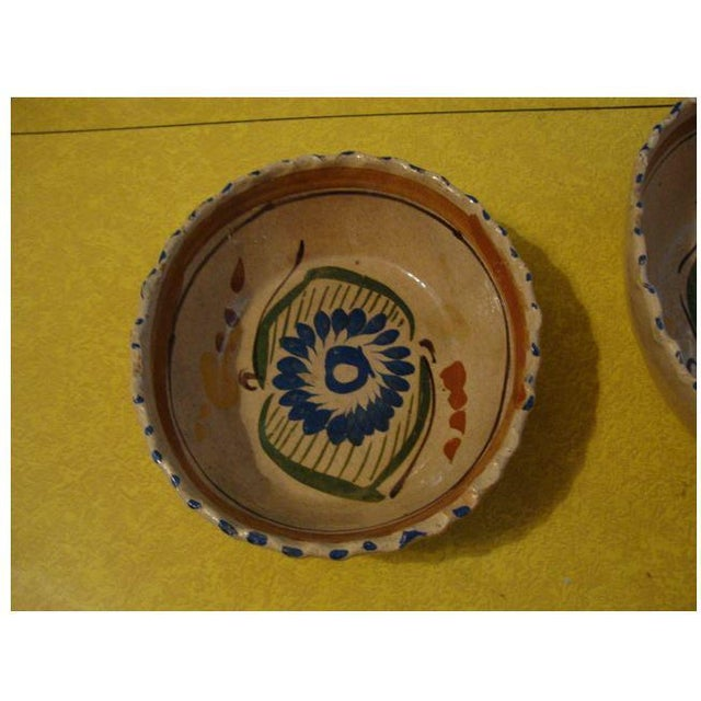 Tlaquepaque Mexican Nesting Bowls - Set of 4 For Sale - Image 4 of 10