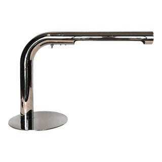 1970s Modernist Chrome Task Lamp