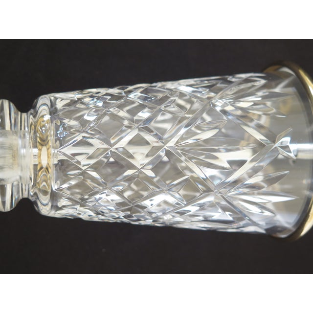 1990s 1990s Traditional Waterford Crystal Table Lamp With Shade For Sale - Image 5 of 8