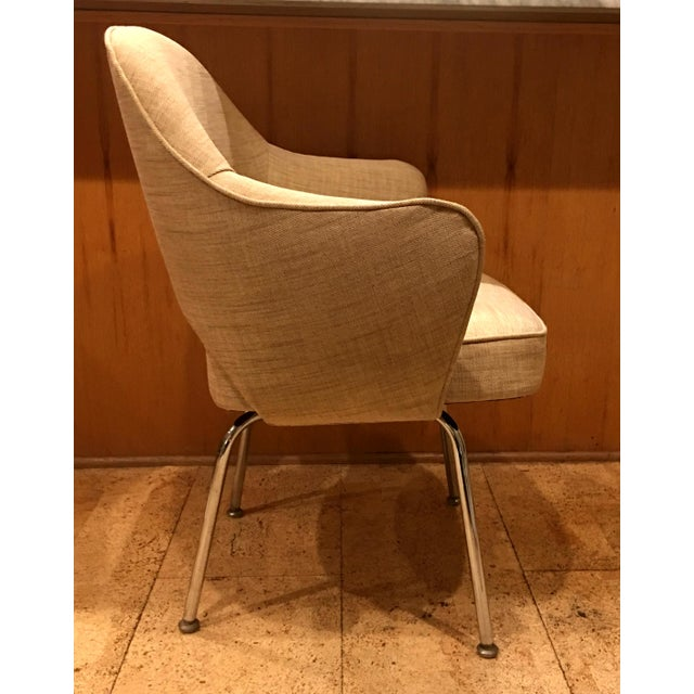Contemporary Eero Saarinen for Knoll Dining Armchairs - Set of 6 For Sale - Image 3 of 6