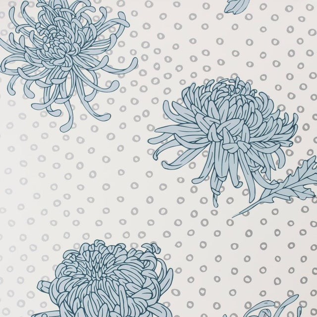 Kanoko Shibori Blues Wallpaper For Sale