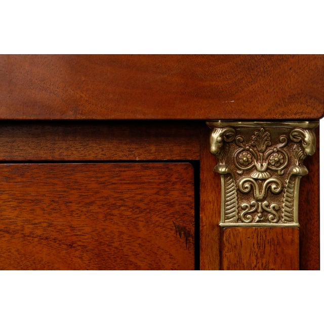 Metal Henredon Historic Natchez Collection Chest of Drawers For Sale - Image 7 of 11