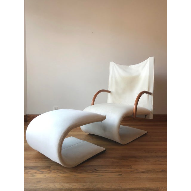 Sculptural Zen Chair and Ottoman by Ligne Roset For Sale - Image 9 of 9