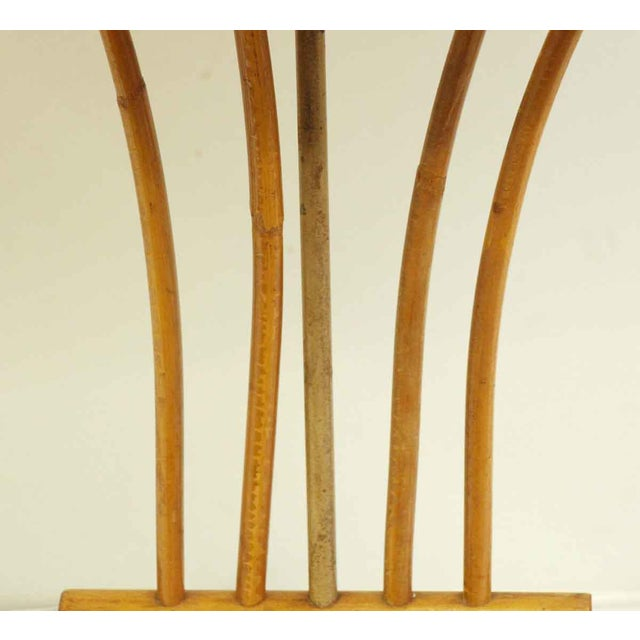 Wood Bamboo Lamps - a Pair For Sale - Image 7 of 13