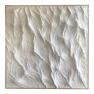 Large Minimalist Topographical Painting For Sale