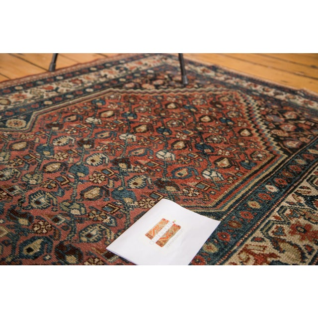 "Vintage Persian Malayer Rug - 3'8"" X 5'6"" For Sale - Image 7 of 8"