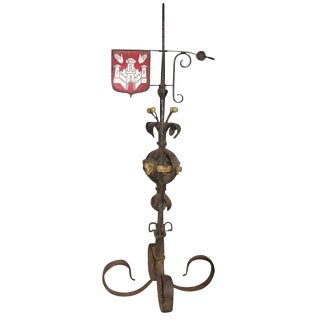 Large Iron Weather Vane For Sale