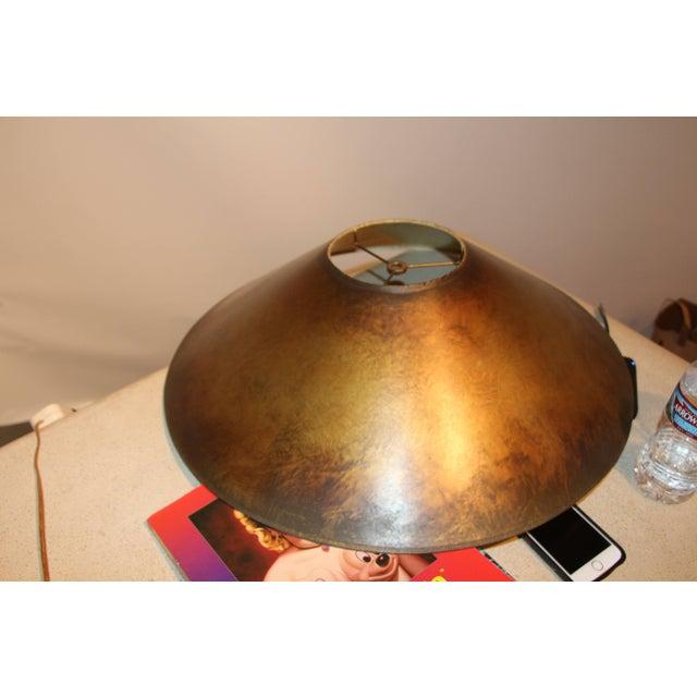 Gold Bronze Patina Steve Chase Designed Lamp For Sale - Image 8 of 9