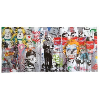 """Mr. Brainwash """" Love Is the Answer """" Rare Limited Release Authentic Lithograph Print Pop Art Poster For Sale"""