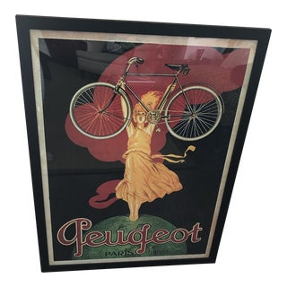 Reproduction Antique Bicycle Poster For Sale
