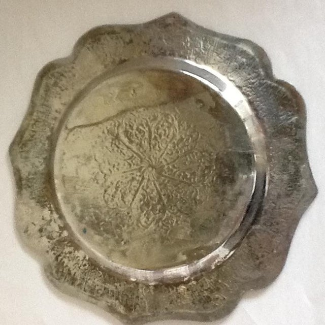 Vintage Moroccan Metal Tray - Image 7 of 8