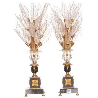 Art Deco Console Lamps - a Pair For Sale