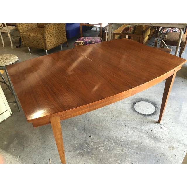 Danish Style Mid Century Modern Dining Table - Image 2 of 9