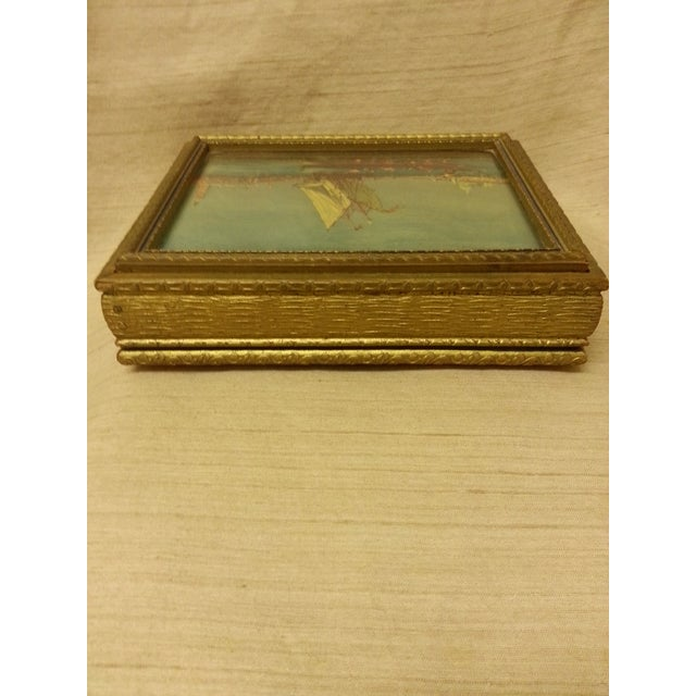 Final Price! Wooden Trinket Box For Sale - Image 4 of 6