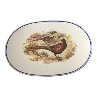 Vintage German Kuba Pheasant Platter