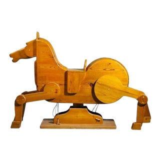 Modernist Rocking Horse From Denmark For Sale