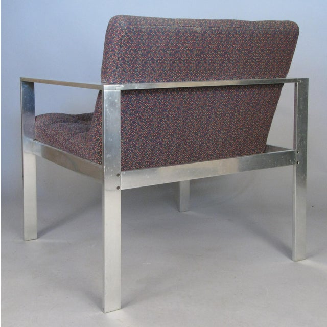 1960s 1960s Vintage Aluminum Frame Lounge Chairs by Harvey Probber-a Pair For Sale - Image 5 of 7