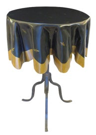 Image of Dark Green Accent Tables