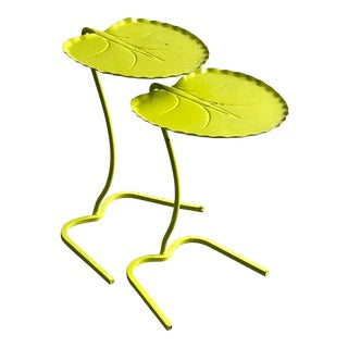 Midcentury Salterini Lily Pad Nesting Tables - Set of 2 For Sale