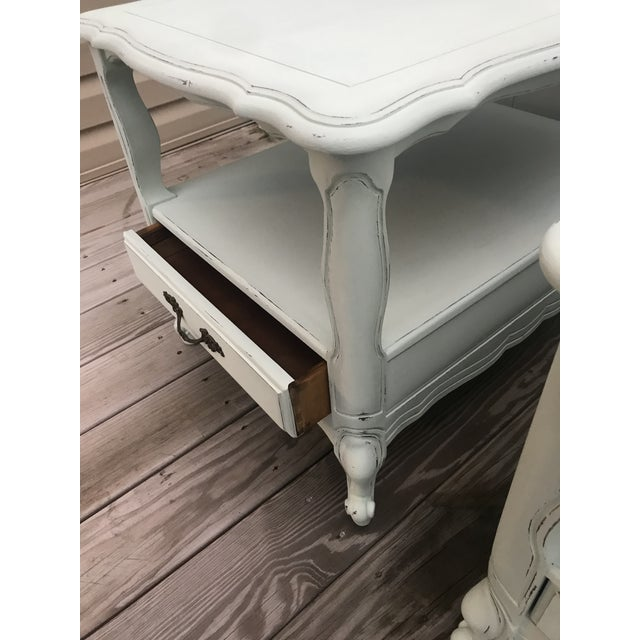 Paint 1960s French End Tables - a Pair For Sale - Image 7 of 8
