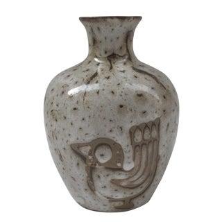 Mid-Century Studio Ceramic Weed Vase