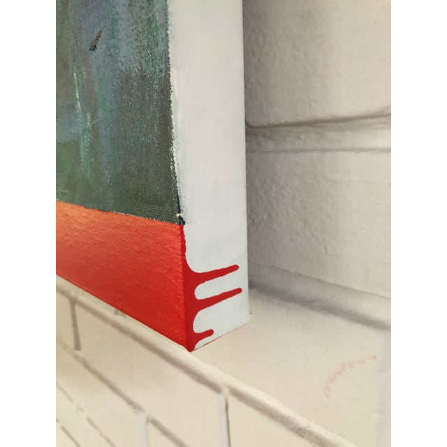 Abstract Original Modern Abstract Painting by Tony Curry For Sale - Image 3 of 4