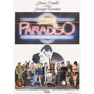 Cinema Paradiso 1988 Italian Due Fogli Film Poster For Sale
