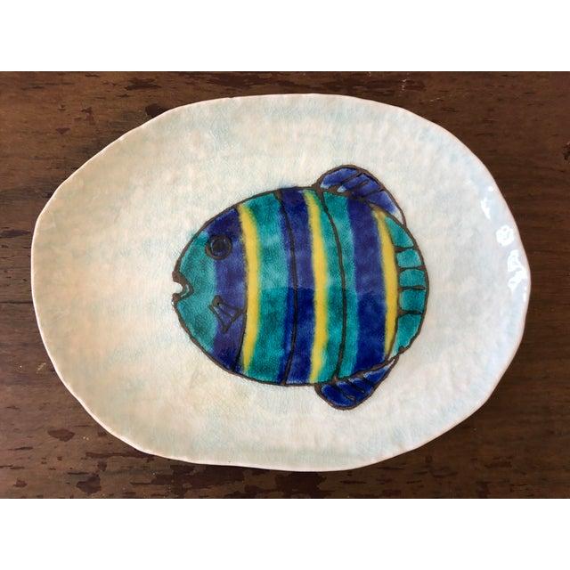 Vintage Kotobuki San Francisco Japanese Fish Plates - Set of 12 For Sale In Buffalo - Image 6 of 7