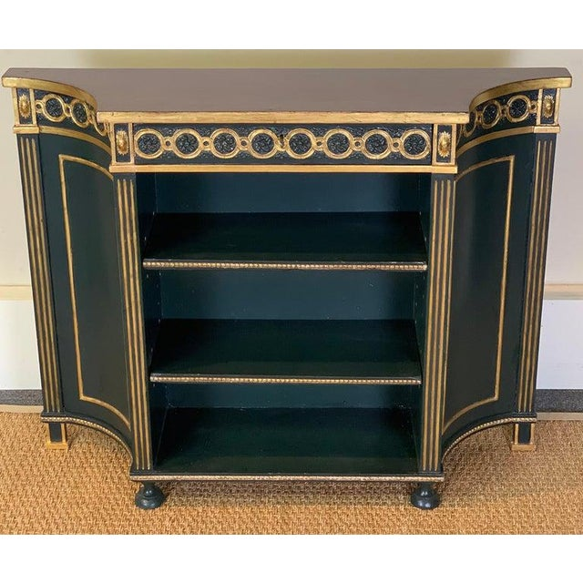 Pair of Regency Style Bookcases For Sale - Image 4 of 12