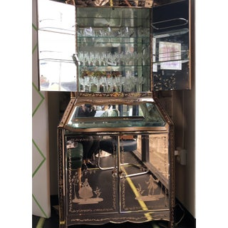 Antique Venetian All-Mirrored Bar Preview