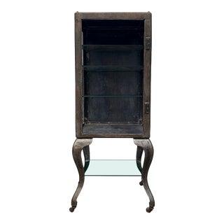 1920s Steel Medical Cabinet For Sale