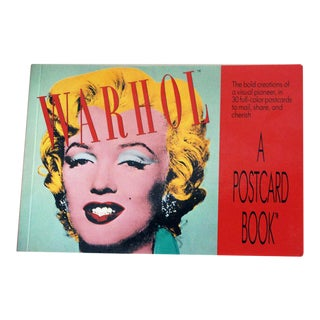 Vintage Andy Warhol Postcard Book For Sale