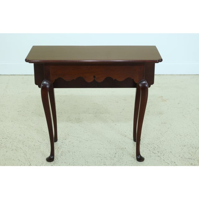 Stickley Colonial Williamsburg Drop Side Mahogany Table For Sale - Image 11 of 11