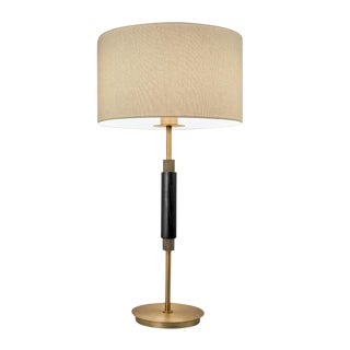 Golden Bronze Piazza Table Lamp For Sale