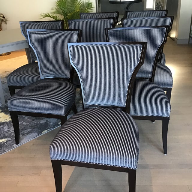 Designmaster Furniture for Hickory Co. Dining Chairs - Set of 8 For Sale - Image 9 of 13