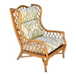 Mid Century Bamboo Windsor Style Chair For Sale