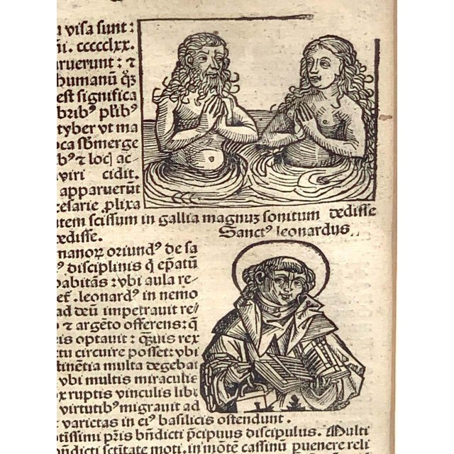 'World Chronicle', 1st Edition, by Schedel & Wolgemut, Nurnberg, 1493 For Sale - Image 4 of 13
