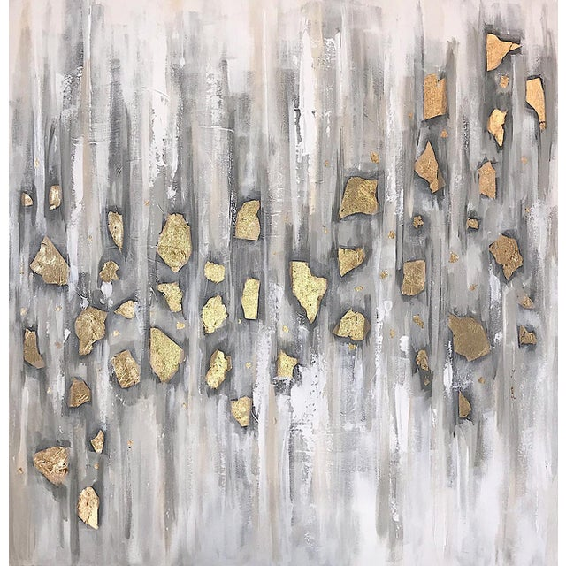 'Midas' Original Abstract Painting by Linnea Heide For Sale - Image 10 of 10