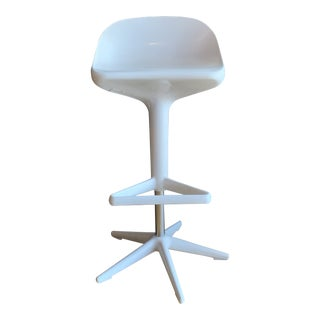 White Spoon Stool by Kartell For Sale